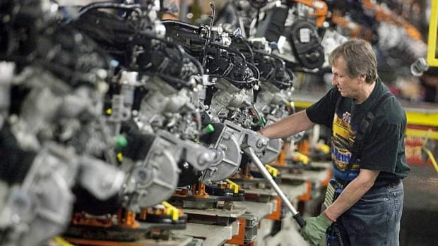 The manufacturing sector contracted in August, according to Statistics Canada figures released Wednesday.
