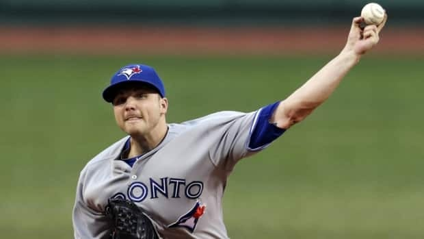 Toronto Blue Jays starting pitcher Aaron Laffey gave up just three hits over six innings and struck out two on Tuesday night.