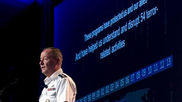 Gen. Keith Alexander, director of the National Security Agency, addressed the Black Hat hacker convention in Las Vegas last week.