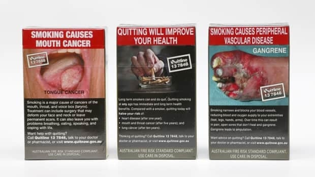 Australia is set to become the first country to mandate packaging of cigarettes in plain olive green packs, and to increase the size of gory pictorial health warnings.