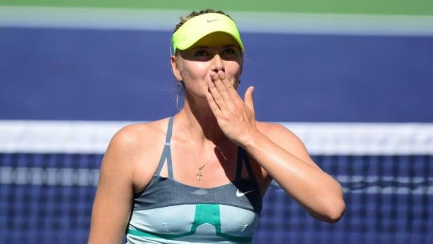 Maria Sharapova is projected to rise one spot in the WTA Tour rankings to No. 2 on Monday, dropping Victoria Azarenka to third.