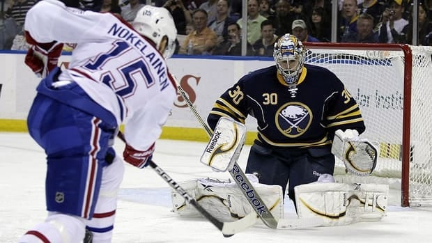 Buffalo Sabres goalie Ryan Miller earned his third shutout in the last 11 games on Wednesday against Montreal.