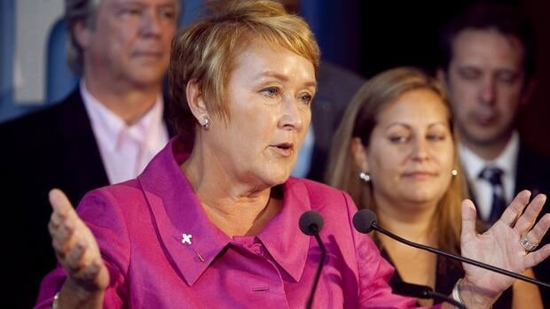 Pauline Marois announced a new language plan for immigrants who wish to run for office.