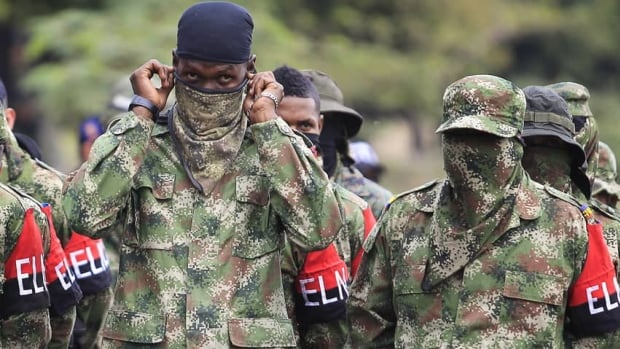 The smaller of two Colombian guerrilla groups, the ELN has expressed interest in taking part in peace negotiations the government has been holding with the group's larger counterpart, FARC, or Revolutionary Armed Forces of Colombia. President Juan Manuel Santos, however, said the group must release all of its hostages.