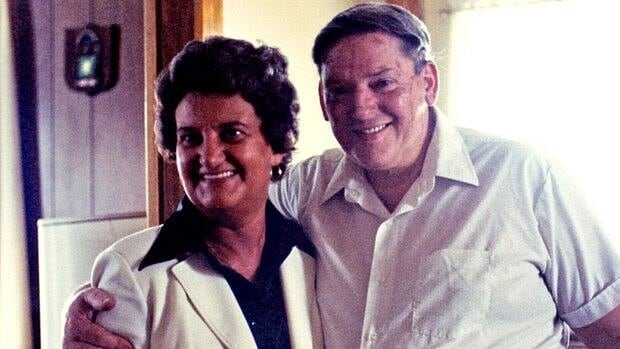 Patricia Guy, pictured with her husband, went to hospital after discovering a lump on her arm. Nineteen days later, she died.
