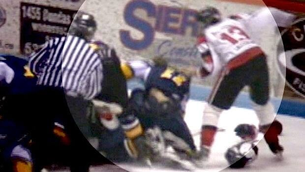 Parents of a minor hockey player are outraged that this hockey fight wasn't taken seriously enough by the police and hockey officials.