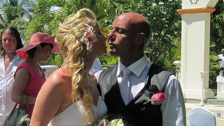 Stacey Vernon And Her New Husband Nick Miele Just Hours Before He Was Arrested After A Fight At The Bahia Principe Esmeralda Resort In Punta Cana