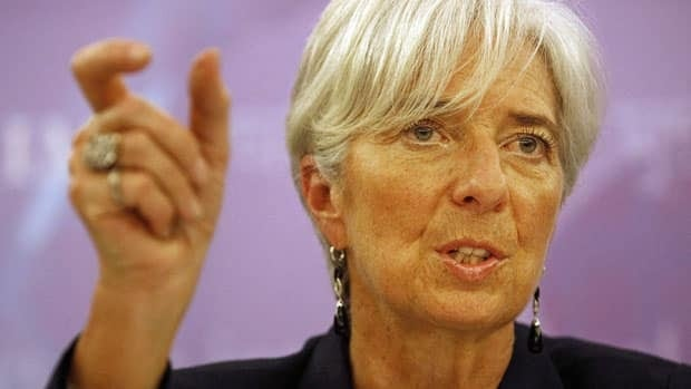 International Monetary Fund chief Christine Lagarde says countries must straddle a fine line between getting debt loads under control and not stifling growth through spending.