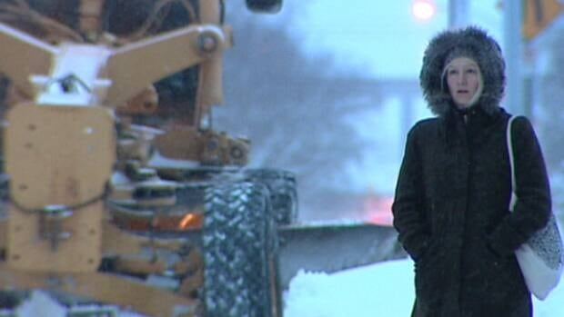 The city imposed a parking ban on bus routes this morning at 7 a.m. It's expected to stay in place until Monday.