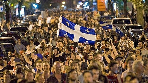 Ongoing protests against proposed tuition increases have become an issue in Quebec's  election campaign.