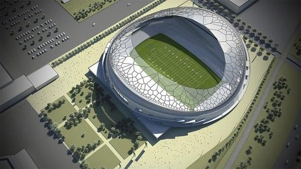 Regina plans to build a new 33,000-seat football stadium.