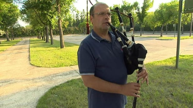 Iain MacDonald is excited the City of Regina Pipers will be playing with Paul McCartney Wednesday night.