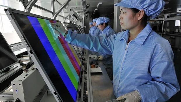 China has fined a variety of flat-screen television manufacturers for price-fixing with other suppliers to keep prices high.