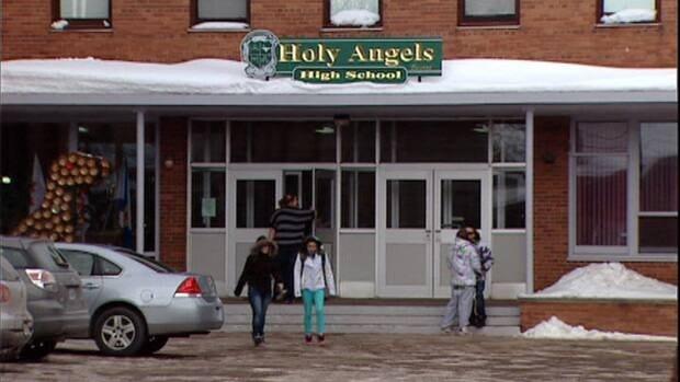 Holy Angels High School was the last all-girls public high school in Atlantic Canada.