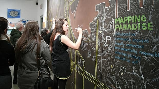 The McMaster University show features student work created around issues relating to the Cootes Paradise and Niagara Escarpment biosphere, and the efforts made to preserve biodiversity in the region.