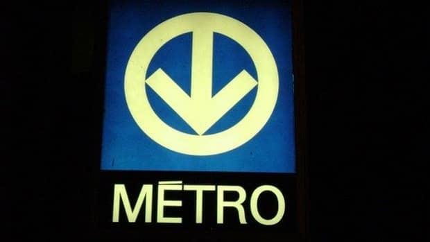 A woman fell on the tracks at Plamondon metro station.