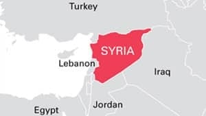 CBC News Syrias Children To Become Lost Generation - Map of egypt jordan and syria