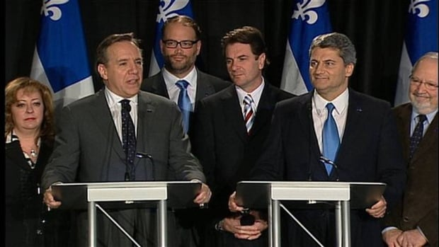 ADQ members vote to merge with CAQ, giving François Legault's upstart party four national assembly seats.