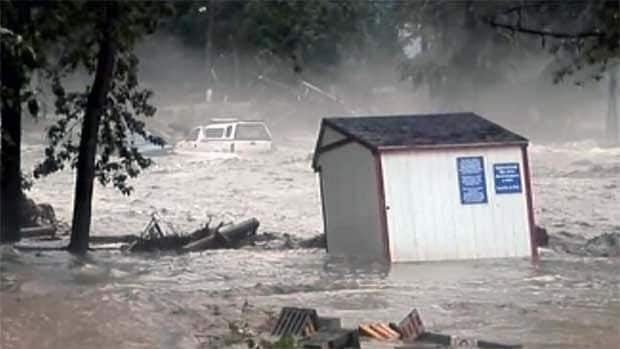 A lawsuit claims the Sicamous flooding in June was made worse by an uninspected and untended culvert that was the responsibility of the B.C. government.