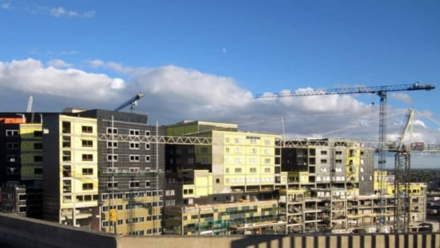 The MUHC superhospital construction site.