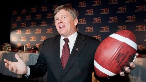 Montreal Alouettes coach Dan Hawkins has a 112-61-1 career record as a college football coach in the United States.