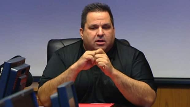 Ray Rybachuk, seen at a Winnipeg city council meeting in January 2011.