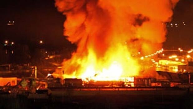WorkSafeBC is investigating the exact cause of the fire that destroyed much of the Lakeland Mills sawmill in Prince George, B.C., in April.