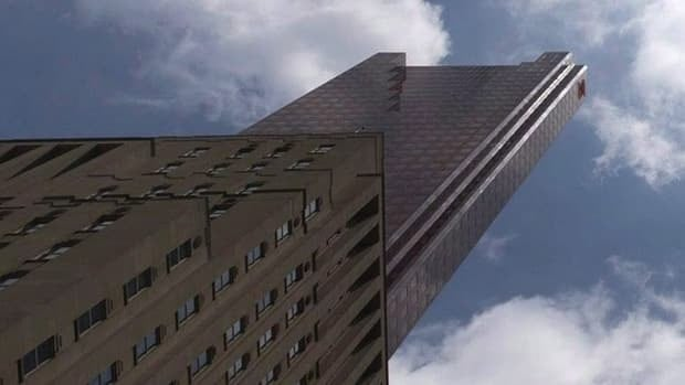 Scotiabank said Tuesday that Dundee REIT and H&R REIT had agreed to buy the downtown Toronto building where it will become the chief tenant.