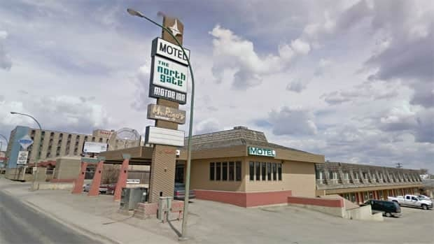 The North Gate Inn in Saskatoon was robbed twice Thursday morning and the clerk was hit in the head with a metal bar.