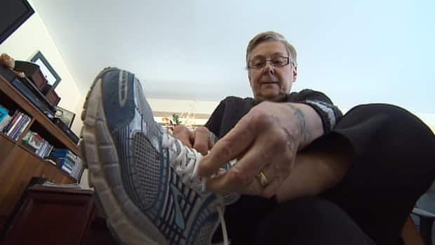 Wendy Berringer has waited more than a decade for surgery to fix a bone deformation on her left foot.