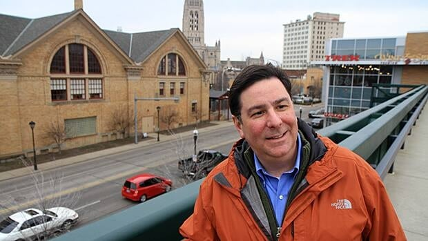 Bill Peduto, city councillor and candidate in this month's Pittsburgh mayoral race, says East Liberty's turnaround came from a detailed neighbourhood plan.