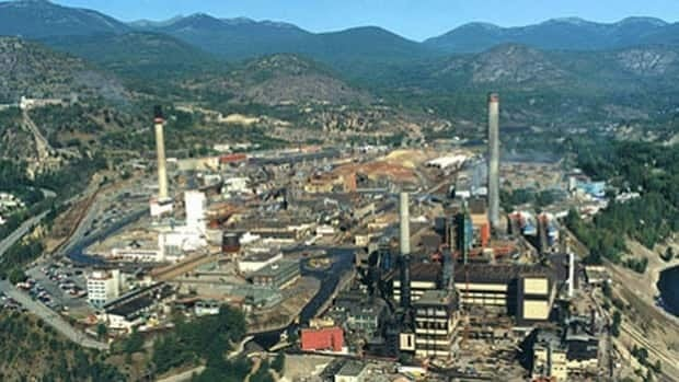 Teck's lead and zinc smelter in Trail, B.C., is about 10 kilometres upstream from Washington.