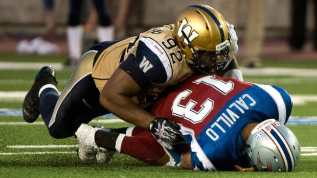 Winnipeg Blue Bombers defensive tackle Bryant Turner sacked Montreal Alouettes quarterback Anthony Calvillo three times during Winnipeg's win over Montreal in Week 2. The three sacks pushed him into a tie for the league lead in that department.