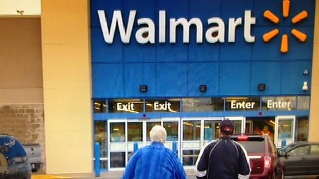 A new Wal-Mart opened at the Lancaster Mall on Saint John's west side Friday.