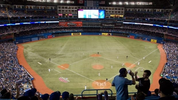 The Blue Jays traditionally draw a large crowd for their first home game of the season.
