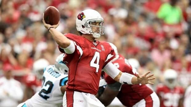 Arizona Cardinals quarterback Kevin Kolb was beat out for the starting job in the preseason by John Skelton.