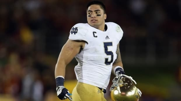 Fighting Irish captain Manti Te'o lied about his online girlfriend after learning she didn't exist.