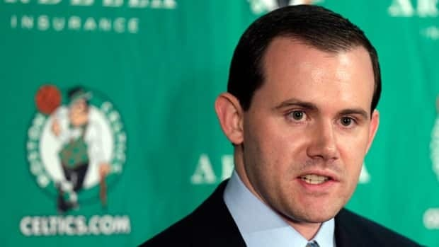 Ryan McDonough, seen in 2012 with Boston, began serving with the Celtics when we was 23 years old.