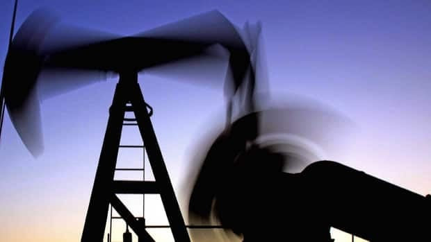 An oil pumpjack operates in Sakhir, Bahrain. Crude prices shot above $100 US a barrel Wednesday.