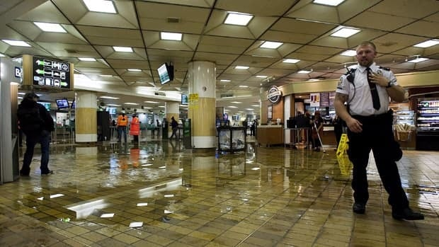 TTC passengers were forced to find other ways home during rush hour Friday after flooding caused the closure of Union station and part of the subway line.