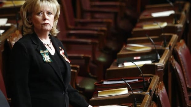 Senator Pamela Wallin was reluctant to get into much detail over her residency.