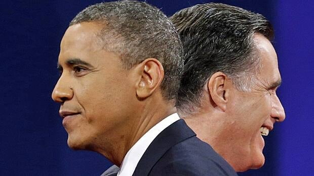 U.S. President Barack Obama and Former Gov. Mitt Romney compete for the U.S. presidency.