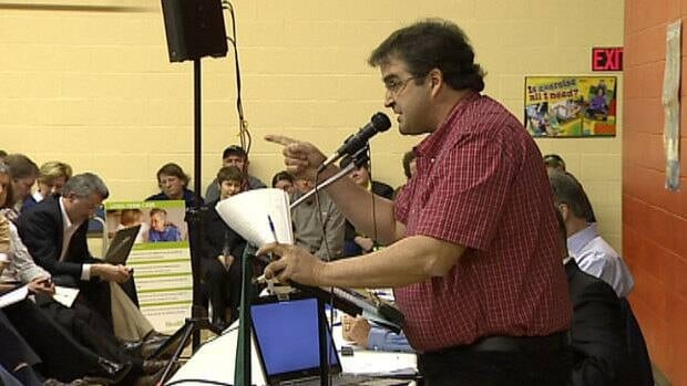 Gerard Holland accused Health Minister Doug Currie of playing Russian roulette with the lives of people in rural P.E.I.