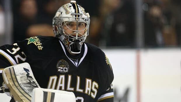 Kari Lehtonen was among the NHL leaders in wins when he was injured on Feb. 15.