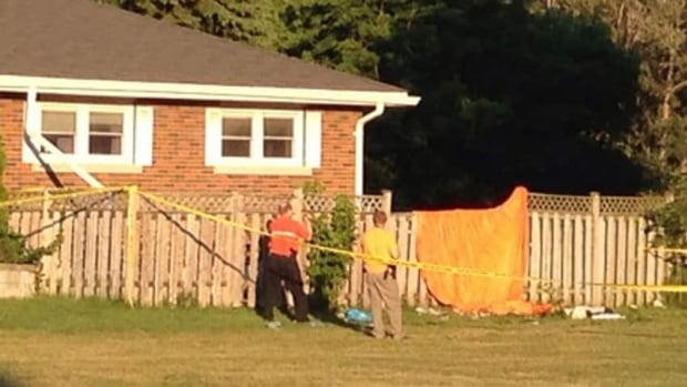 A man in his 40s has died after a skydiving accident north of Toronto on Sunday afternoon.