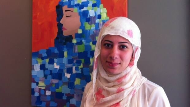 The Art of Islam founder Ola Mohajer says the paintings are inspiring conversations around the Muslim faith.