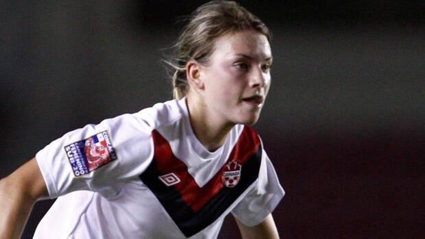 Forward Jenna Richardson is among those trying to crack the senior squad.