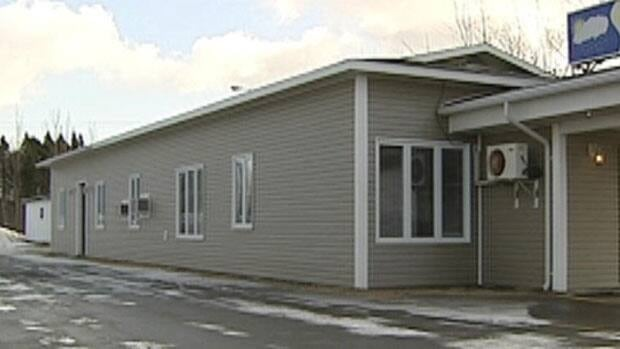 Midtown Laundry, located in this building in Gander, has closed.