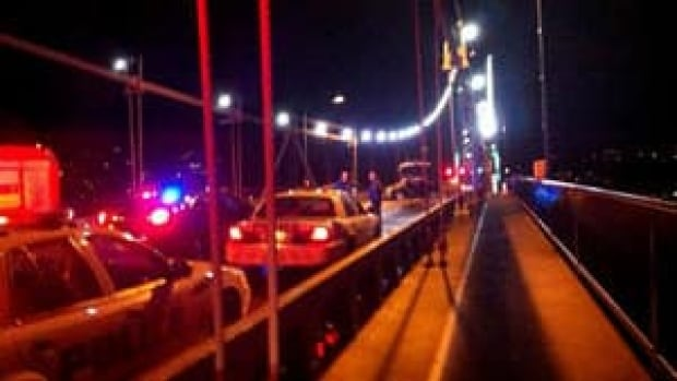 Two young men were killed when their car slammed into a bus on the Lions Gate Bridge on Nov. 28.