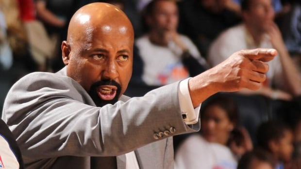 The Knicks on Monday fired head coach Mike Woodson, pictured here, after his NBA club went from division champions to 37 victories this season.